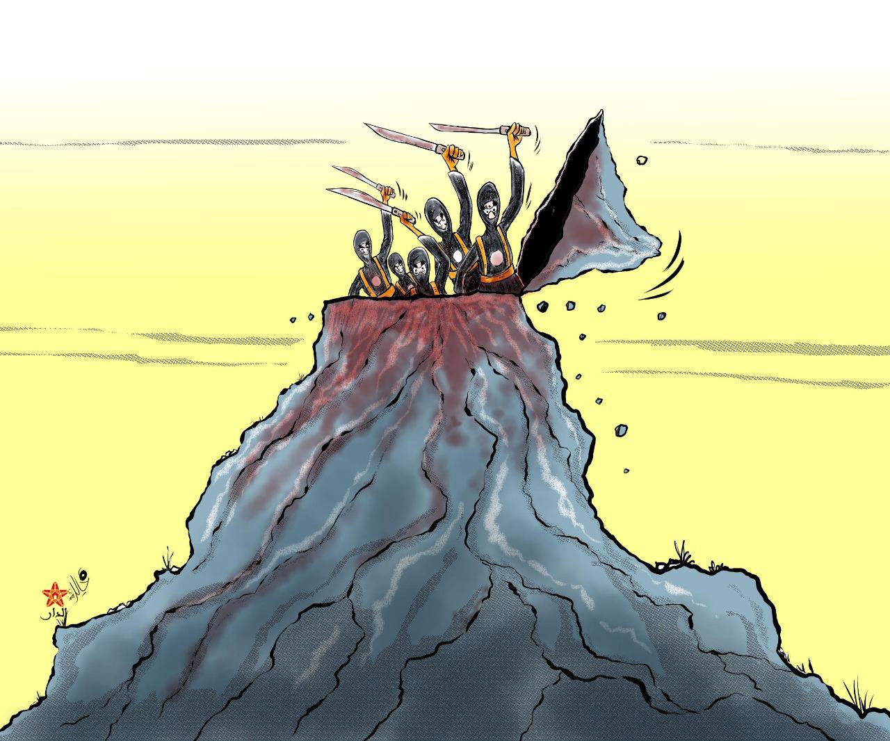 صورة الإرهاب يصل إلى الجبل