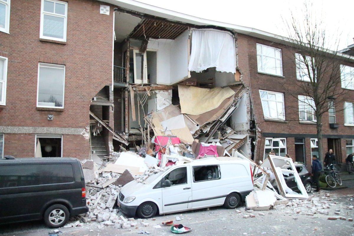 صورة هولندا: انهيار منازل ومفقودون بانفجار ضخم في لاهاي