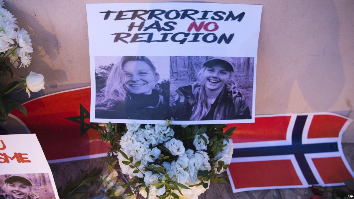 صورة اعتقال 14 شخصا في الدنمارك بتهمة تداول ونشر فيديو مقتل السائحتين الاسكندنافيتين بمراكش