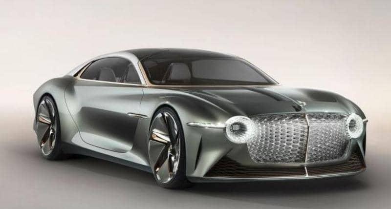 """صورة بنتلي تطلق """"سيارة المستقبل"""".. كهربائية بتصميم فاخر"""