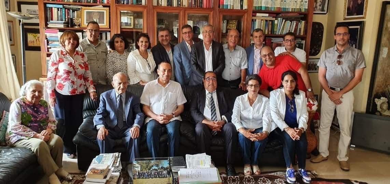 صورة بعد ضجة صورة اليوسفي..أعضاء في قيادة الاتحاد الاشتراكي يوضحون
