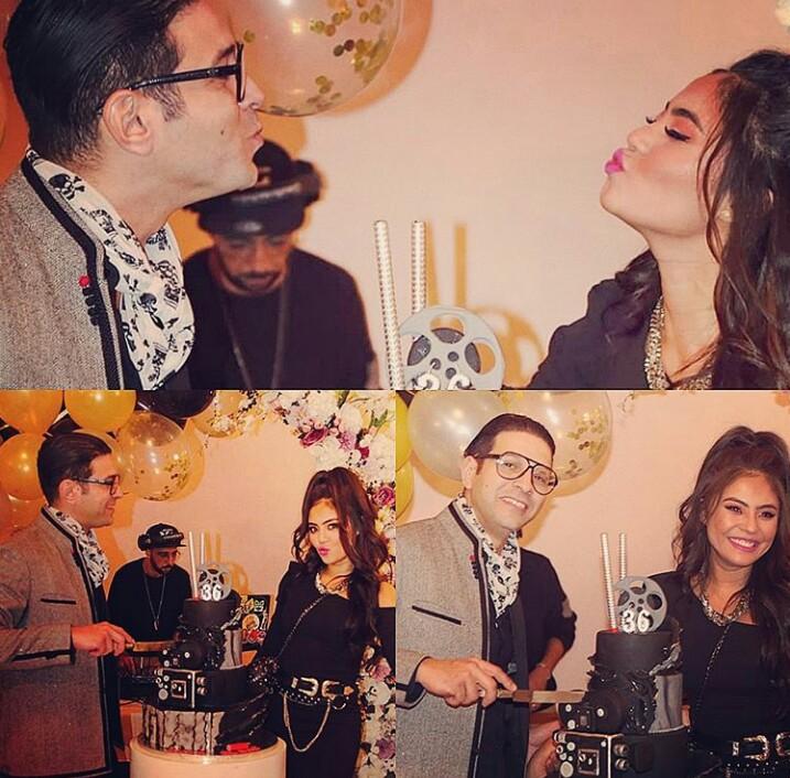 Photo of زوجة الممثل أنس الباز تفاجئه في عيد ميلاده..