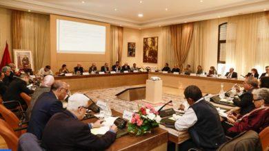 صورة اللجنة الخاصة بالنموذج التنموي تقرر الشروع ابتداء من 2 يناير في عملية استماع للمؤسسات والقوى الحية للأمة
