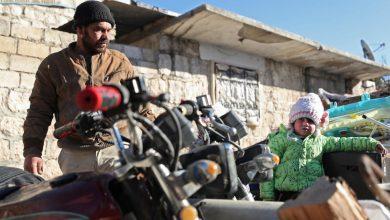 صورة نازحون جدد بعد تجدد القصف غرب سوريا