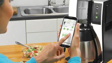 Photo of آلة قهوة ذكية تعمل بالواي فاي