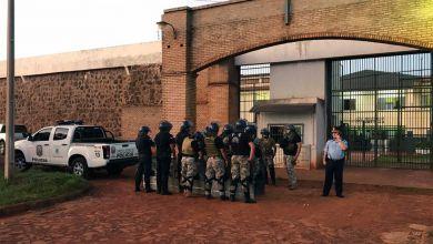 صورة فرار نحو ثمانين سجينا عبر نفق في باراغواي