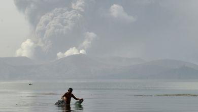 Photo of حالة إنذار في الفيليبين مع اقتراب ثوران البركان تال