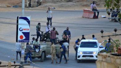 """صورة خمسة قتلى خلال """"تمرد"""" نفذه عناصر من جهاز المخابرات العامة في السودان"""