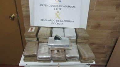صورة 36 كيلوغراماً من الكوكايين تطيح بمغربي في سبتة