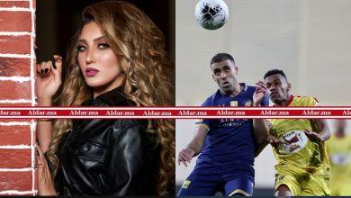 صورة (بالفيديو) بسبب العلم المغربي..عارضة أزياء مغربية تثير أزمة في مباراة الحزم والنصر