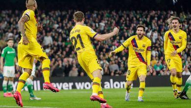 صورة بالصور والفيديو.. برشلونة يعود بفوز صعب من أمام ريال بيتس