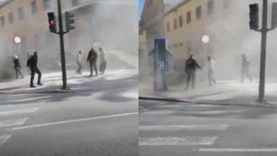صورة اسبانيا .. اصابة مهاجر مغربي بحروق خطيرة بعد اضرام النار في جسده أمام مقر الشرطة في مورسيا
