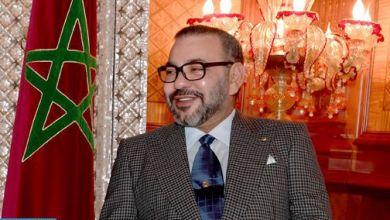 Photo of برقية تهنئة من جلالة الملك إلى أعضاء المنتخب الوطني المغربي لكرة القدم داخل القاعة إثر فوز المنتخب بكأس الأمم الإفريقية 2020