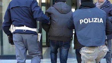 صورة اعتقال مهاجر مغربي في ايطاليا هدد حياة أفراد عائلته بالقتل