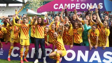صورة بالفيديو.. فريق برشلونة للسيدات بطلا لكأس السوبر الإسباني