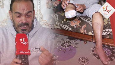 صورة محمد من بطل مغربي الى مقعد بدون رجل .. عايش مع نسابي وبغيت غير كرسي متحرك نمشي بيه للجامع