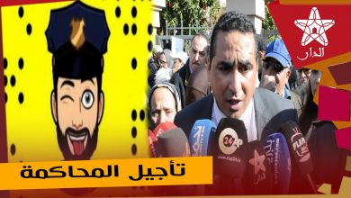 """صورة مباشرة من المحكمة الابتدائية بمراكش تأجيل جلسة محاكمة """"كلامور"""" وسيمو ظهير"""" لأربع ساعات"""