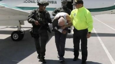 """صورة شرطة كولومبيا تفرج عن فيديو اعتقال """"الذراع الأيمن للمغربي رضوان التاغي بعد سنوات من الفرار"""
