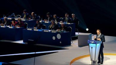 """صورة دونالد توسك يندد بالسلوك """"القومي"""" لدول الاتحاد الأوروبي حيال وباء كوفيد-19"""