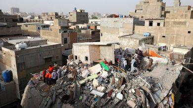 صورة قتل 20 شخصاً بسبب الأمطار الغزيرة في باكستان