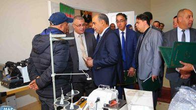 صورة بركان..مؤسسة محمد السادس لإعادة ادماج السجناء تواصل تنزيل المشروع الملكي لفائدة النزلاء