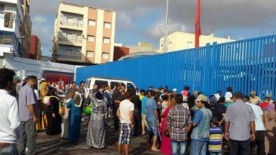 """صورة مليلية تشدد إجراءاتها على الحدود مع المغرب تحسبا لتسجيل حالات """"كورونا"""" في الناظور وبركان"""