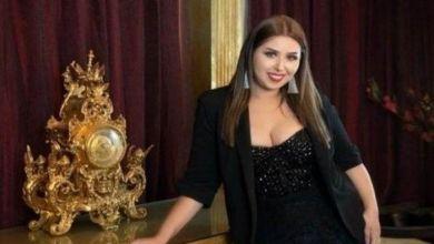 صورة اصابة المطربة المصرية إيناس عز الدين فيروس كورونا أثناء رحلتها إلى المغرب