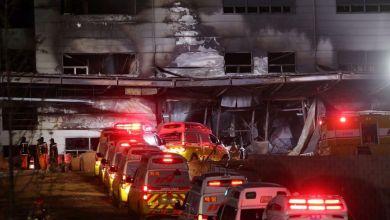 صورة ارتفاع عدد ضحايا حريق في كوريا الجنوبية إلى 38
