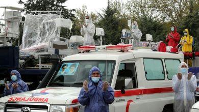 صورة وفيات كوفيد-19 في ايران تتجاوز الخمسة آلاف وفق وزارة الصحة