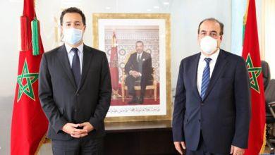 Photo of تسليم السلط بين عثمان الفردوس والحسن عبيابة
