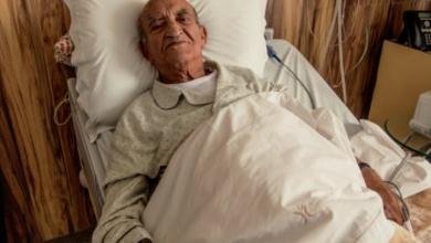 صورة وفاة الوزير الأول الأسبق عبد الرحمان اليوسفي