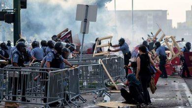 صورة صدامات جديدة وتظاهرات بعد مقتل أميركي أسود بيد الشرطة