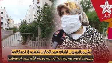 صورة ارتفاع عدد الحالات المشبه في إصاباتها بفيروس كورونا بمدينة سلا الجديدة