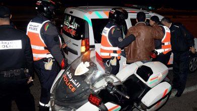 صورة موظف شرطة يضطر لاستعمال سلاحه الوظيفي لتوقيف جانح عرض عناصر الشرطة للخطر بالبيضاء