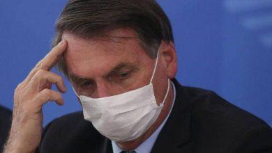 صورة رئيس البرازيل يشعر بأنه مصاب بفيروس كورونا