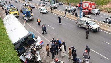 صورة 17 قتيلا و2088 جريحا حصيلة حوادث السير بالمناطق الحضرية خلال الأسبوع الماضي