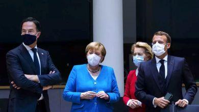صورة القادة الأوروبيون يحاولون إنقاذ خطة إنعاش الاقتصاد و600 ألف وفاة بكورونا في العالم