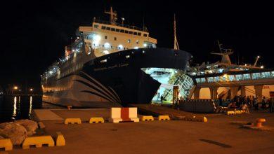 صورة بعد الاشتباه في 3 إصابات بكورونا…باخرة قادمة من إيطاليا تستعد للرسو بميناء طنجة وعلى متنها المئات من مغاربة الخارج