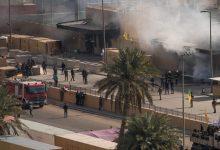 Photo of صاروخ كاتيوشا يستهدف السفارة الأمريكية بالمنطقة الخضراء في العاصمة العراقية بغداد