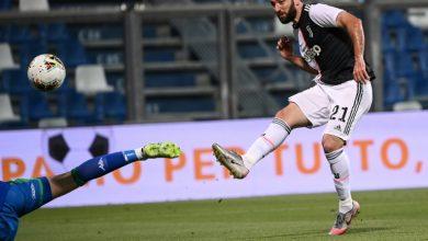 صورة بطولة إيطاليا: يوفنتوس يهدر تقدمه بهدفين على ساسوولو ويخرج بنقطة غير مقنعة