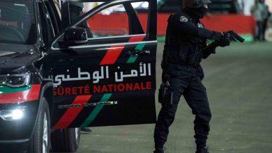 صورة الرصاص لتوقيف مشرمل بالمحمدية عرض سلامة عناصر الشرطة للخطر