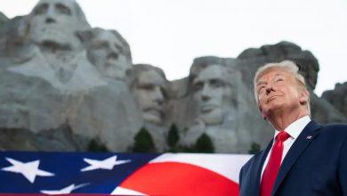 """Photo of ترامب يهاجم التظاهرات ضد العنصرية ويشيد بأميركا """"الاستثنائية"""""""