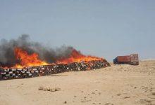 Photo of إتلاف أزيد من 14 طنا من مخدر الشيرا بضواحي الداخلة