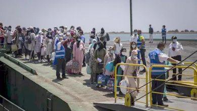 صورة 1200 عاملة مغربية يغادرن اسبانيا والمغرب يشيد بالتعاون الإسباني لإنهاء أزمتهن
