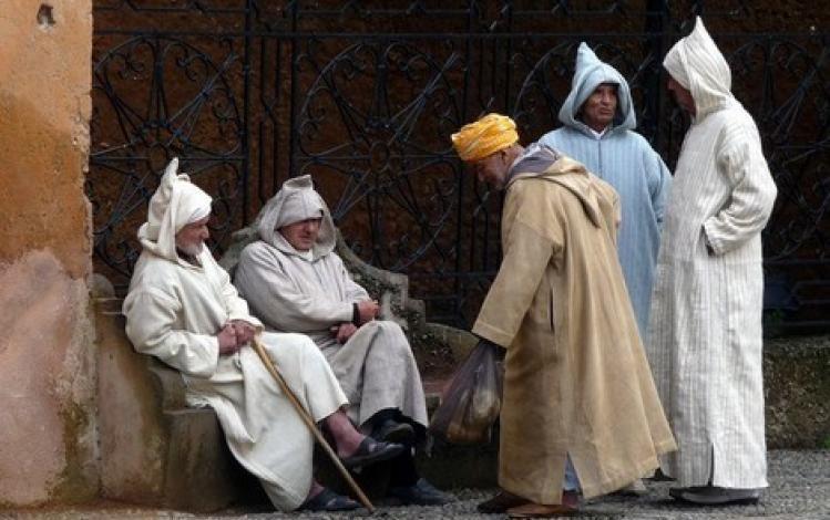 maroc vieux hommes 1 114267573