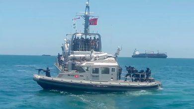 صورة البحرية التونسية تنقذ سبعين مهاجراً انطلقوا من ليبيا
