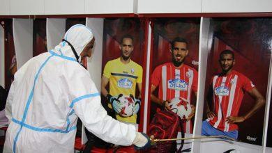 صورة تحاليل فيروس كورونا تكشف عن إصابة لاعبين من المغرب التطواني