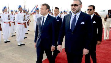 صورة الملك محمد السادس وماكرون يتباحثان إقامة مركز لإيواء القاصرين غير المصحوبين في المغرب