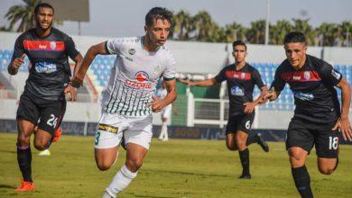 صورة بالصور.. الدفاع الحسني الجديدي يحسم مباراة المغرب التطواني بهدفين دون رد