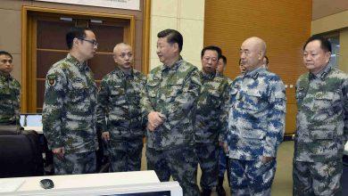 صورة الرئيس الصيني يشدد على دفع عملية تحديث القوات المسلحة